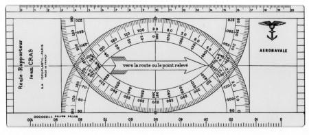 Navigatieliniaal Jean Cras zakmodel