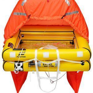 Reddingvlot Plastimo Coastal 4 ISO9650 in valies