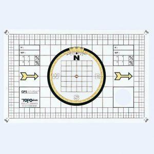 GPS-Plotter met kompasroos