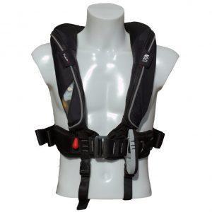 TeamO Offshore Reddingvest 170N PS met BackTow® veiligheidsharnas