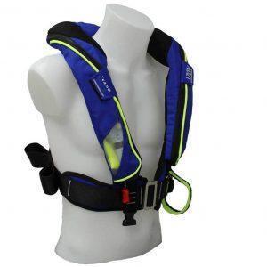 TeamO Reddingvest 170N H met Hammar® automaat en BackTow® veiligheidsharnas