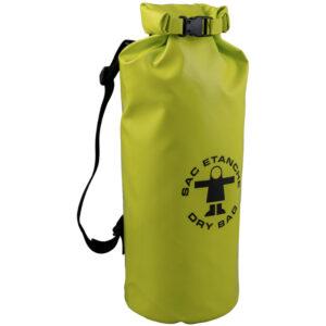 waterdichte tas No. 1 15 liter met rolsluiting anijs groen