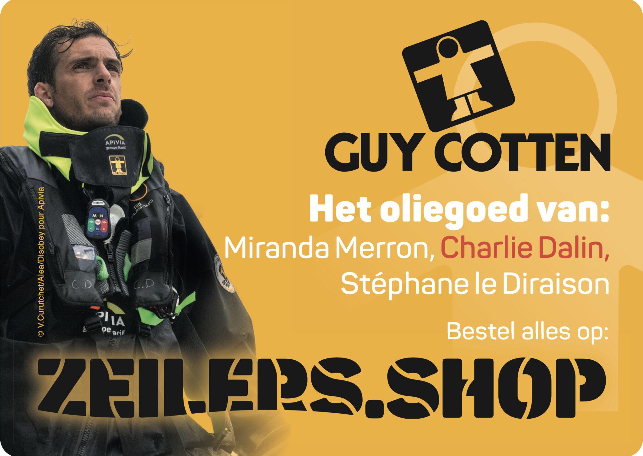 Zeilers.Shop advertentie voor Guy Cotten oliegoed en zeilkleding