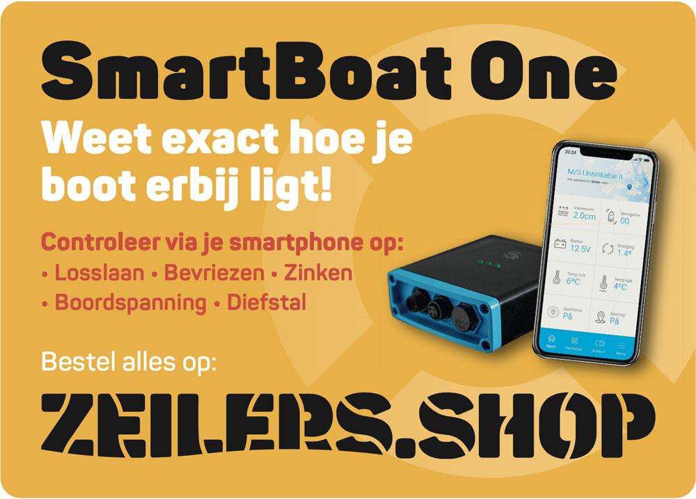 Smart Boat One boot beveiliging